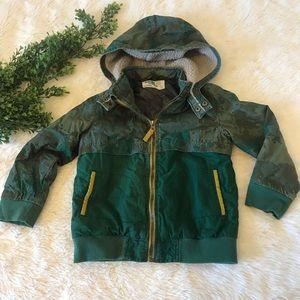 OshKosh Hooded Jacket Toddler Boy Size 5t